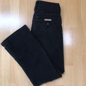 Hudson bootleg Black Jeans Size 28